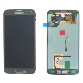 LCD SAMSUNG S5 COLORE GOLD...