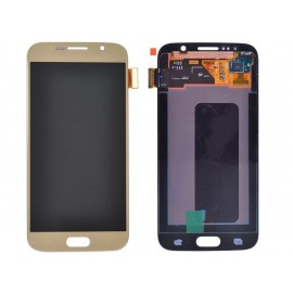 LCD SAMSUNG S6 COLORE GOLD...
