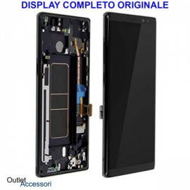 LCD NOTE 8 NERO SERVICE PACK