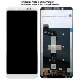 LCD REDMI NOTE 5 COLORE BIANCO