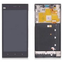 LCD XIAOMI MI3 CON FRAME NERO