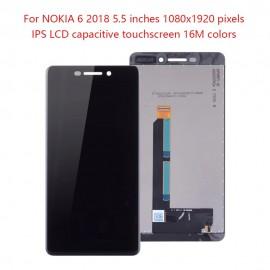 LCD NOKIA 6 2018 COLORE NERO