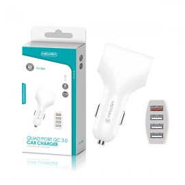 CC-3500 White 4USB/30W QC...
