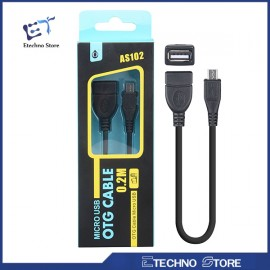 CABLE OTG MICRO USB 0.2M A...