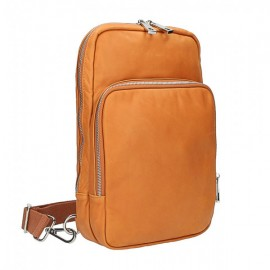 Zaino in pelle nero Made in...