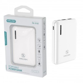 Power Bank MAXAM PB2102 BIANCO