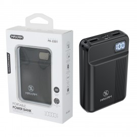 Power Bank MAXAM PB2201 NERO