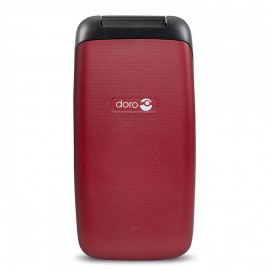 Cellulare Doro Primo 401 Easy Phone Clamshell Rosso