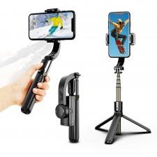 Selfie pieghevole L08 3 in 1 Gimbal stabilizzatore