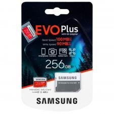 Samsung Micro SDXC EVO+ 256GB+Adattatore
