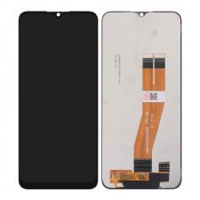 LCD A02S NERO ORIGINALE A025F