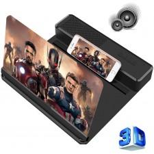 lente di ingrandimento per smartphone con altoparlanti